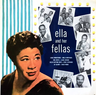 Ella Fitzgerald ‎- Ella And Her Fellas (LP) (VG/VG)